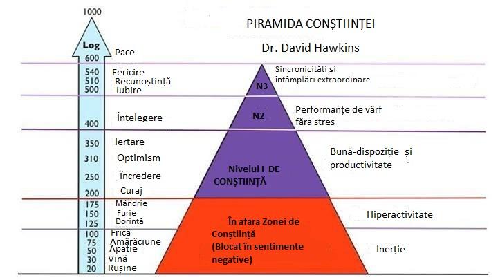 Piramida Constiintei, Dr. David Hawkins